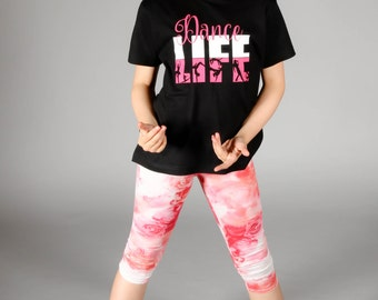 Dance Life - Girls Dance Shirt - Kids Dance Shirt - Cute Dance T-Shirt - Dance Gift- Dance Birthday