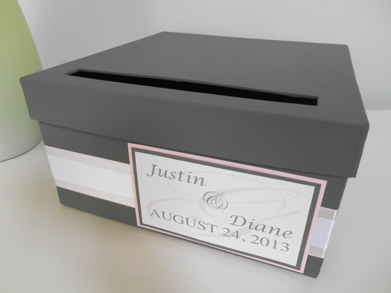 Modern Wedding Card Box Bridal Shower Reception