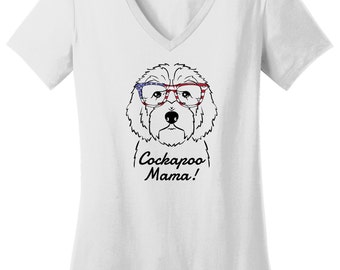 Cockapoo Mama T-Shirt, Cockapoo Mom Shirt, Cockapoo Mom T-Shirt, Cockapoo Mom Gift, Cockapoo Shirt, Cockapoo T-Shirt, Cockapoo Gift