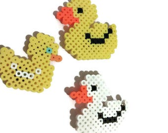 Rubber duck, duckie, magnet