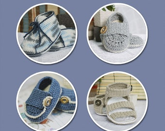 Baby Booties for Boy - Singles