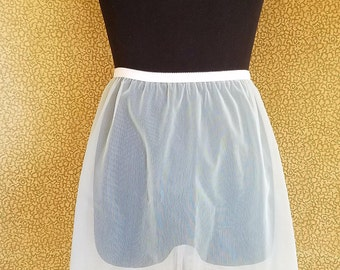 Vintage Nancy King Sheer Skirt Half Slip Baby Blue
