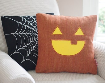 Halloween Jack o Lantern - Jax - Jack o Lantern - Pillow Cover 18 x 18