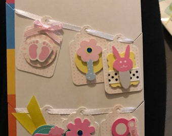Baby Themed Craft Tags