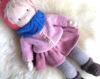 """Clothes set for waldorf doll 14-15"""""""