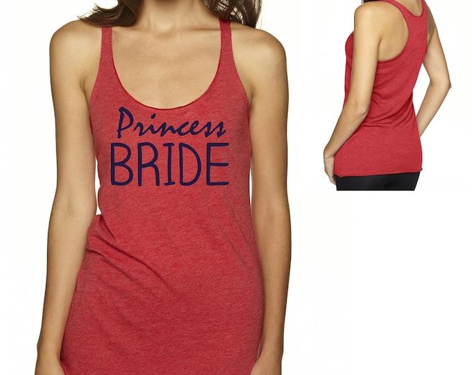 Princess Bride Tank Top , Fairy Tale , Bride Tank Tee , Bride loose , flowy , cute Shirt , Bride Tank - small , medium , large , xl , xxl