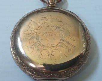 1896 Elgin ladies pocket watch, size 6 (6s02)