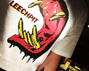 Leechpit Hippo Lips Short Sleeve T-shirt