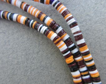 Mixed Vinyl Disk Beads (3x1mm) [67070]