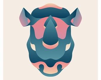 Wildlife Series - Rhinoceros