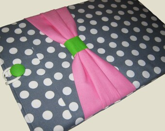 Microsoft Surface Case, Microsoft Surface Cover, Surface RT Sleeve, Surface Pro 3 Case, Surface 2 Case, Watermelon Bow Case