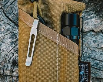 The PocKit EDC Pocket Organizer- Modern Carry Coyote