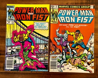 1983 Power Man and Iron Fist, Luke Cage #97 and #98 Comics/VF-FN/Marvel Comics /Chemistro /Choose One or Both for a Discounted Price!