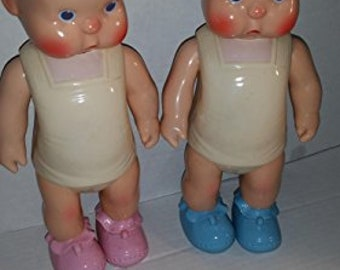 1980's Horsman Reproduction HEbee-SHEbee Dolls