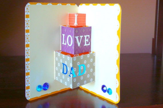Fathers birthday card happy birthday dad birthday cards like this item bookmarktalkfo Image collections