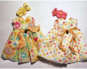 Ppinky's Blythe,Ppinkydolls,Azone Outfit dress with a pet friend/Blythe dress