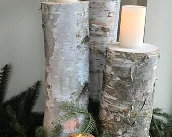 Birch wedding decor | Etsy