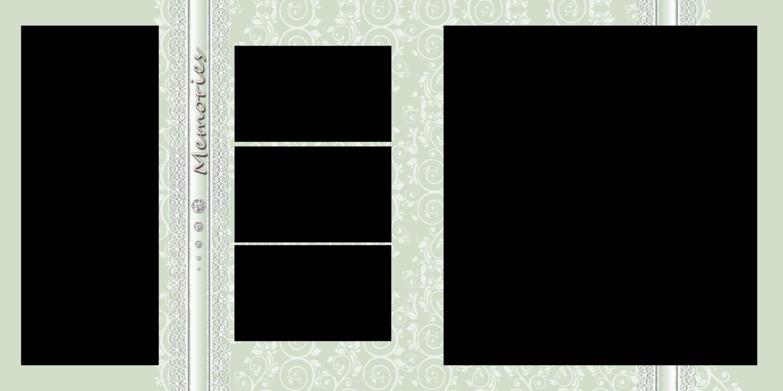 Pack de plantilla de álbum de fotos 24 x 12, 11 plantillas, Collage ...