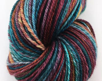 "Handspun Yarn Sport Superwash BFL ""Endymion"" 265 yds."