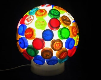 Handmade Lamp, night light,  table lamp - unusual gift