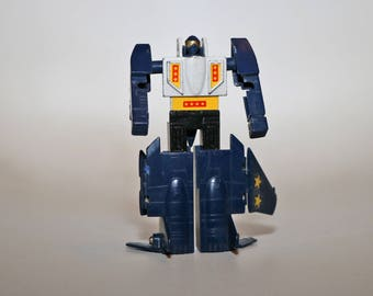 LEADER 1 Gobot Machine Robo Toy 1985 by TONKA Takara Bandai 1980s Old School Diecast Metal Transformers Leader1