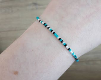 Handmade 'F*ck Anxiety' Morse Code Bracelet | Adjustable | Anxiety Awareness