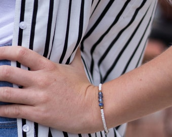 Seed Bead Bracelet, Friendship Bracelet, Adjustable Bracelet, Bridesmaid, Dainty Bracelet, Beaded Bracelet, Stones By Grace