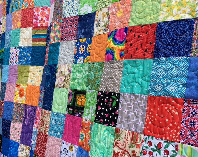 Full XL Size Patchwork Quilts- Quilt - Traditional Quilts Patchwork