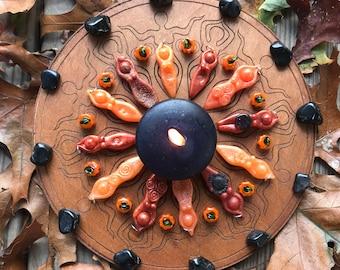 Digital: Liminal Space Ritual Recipe Kit (Samhain, Halloween, Hallows, autumn, ritual kit, Hecate)