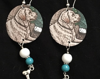 Good Dog! Recycled Aluminum Earrings