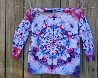 Kids Tie Dye / Long sleeve tie dye / youth long sleeve tie dye / rainbow tie dye/ hippie kid / boho kid / kids small long sleeve tie dye