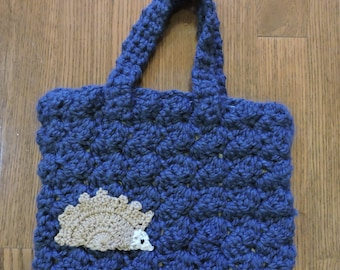Crochet Hedgehog Bag