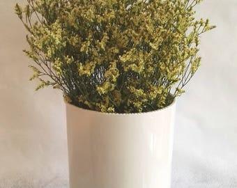 Off White Cylinder Vase, Tall Vase, White Ceramic Vase, Ceramic Vase, Handmade Ceramic Vase, Pottery Vase, Flower Vase, Vintage Vase