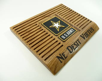 ARMY COIN HOLDER Display Custom Personalized Military Challenge Coins United States Retirement Promotion Gift