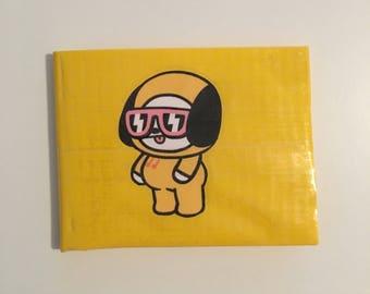 BT21 Chimmy Duck Tape Wallet