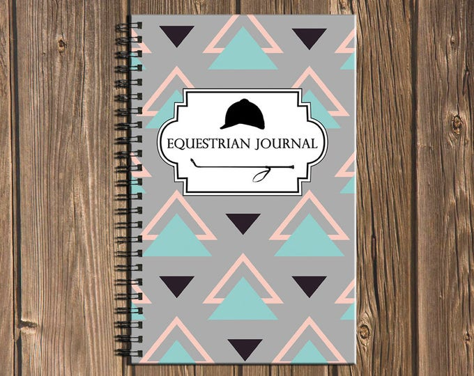 Featured listing image: Equestrian Journal: Track your goals and riding lesson/schooling session progress (100 page Horse Note Book)