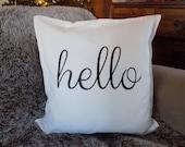 hello pillow, hello pillo...