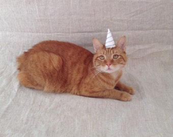 Unicorn Hat For Cats