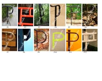 Letter P Word Art