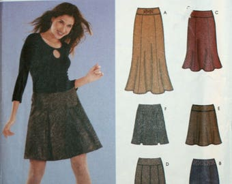 Misses Skirt Sewing Pattern -Simplicity 5351 - New  - Uncut - Size 12, 14, 16, 18, 20