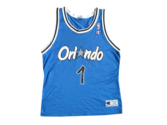 Anfernee Penny Hardaway Orlando Magic Champion Basketball Jersey