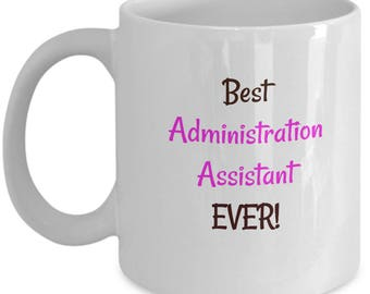 Admin Assistant Coffee Tea Mug | Gift for Secretary