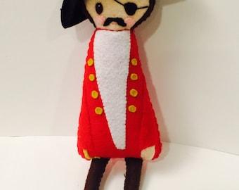 Piraten-Plushie. Softie. Fühlte mich Doll.