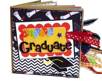 Graduation Scrapbook - Graduation Gift - High School Graduation - College Graduation - Paper Bag Scrapbook - Mini Scrapbook - Photo Album