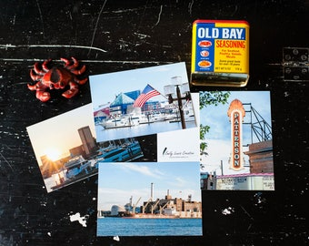 Baltimore Moments - A Postcard Pack