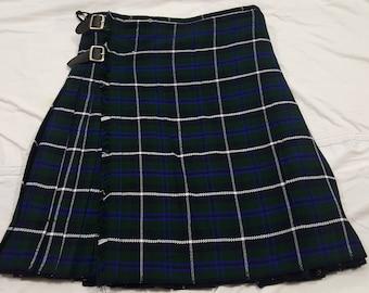 SALE  Douglas Tartan kilt Custom Made Size Length