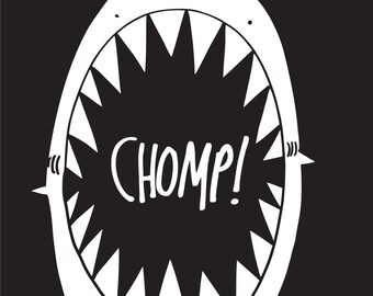 CHOMP! - Shark Illustration