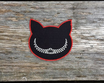 Cheshire Cat Patch - Iron on