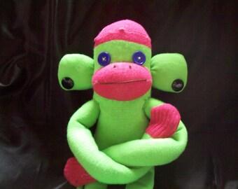 Sid, The Handmade Sock Monkey