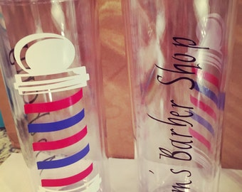 Personalized Barber Shop Tumbler